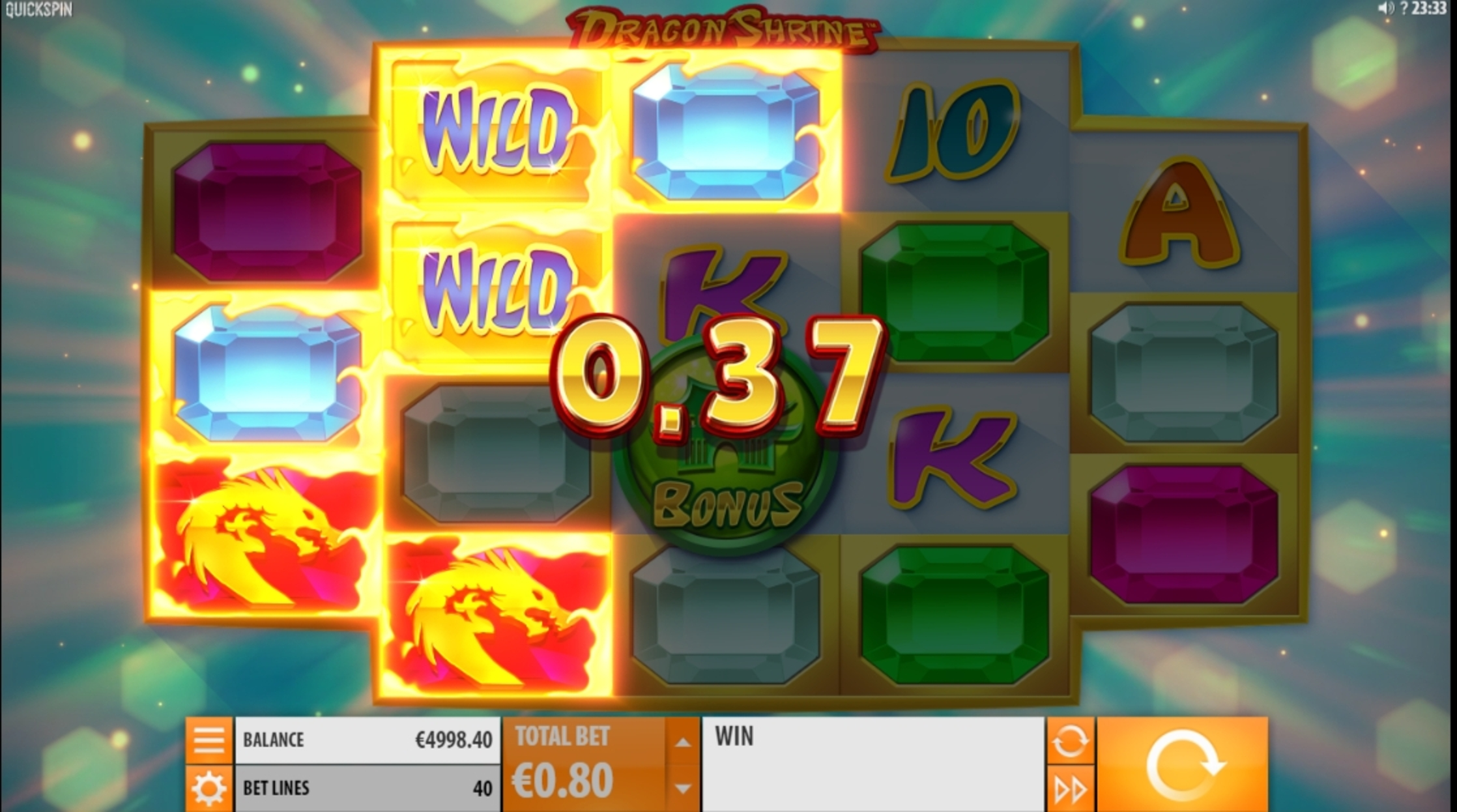 Win Money in Dragon Shrine Free Slot Game by Quickspin