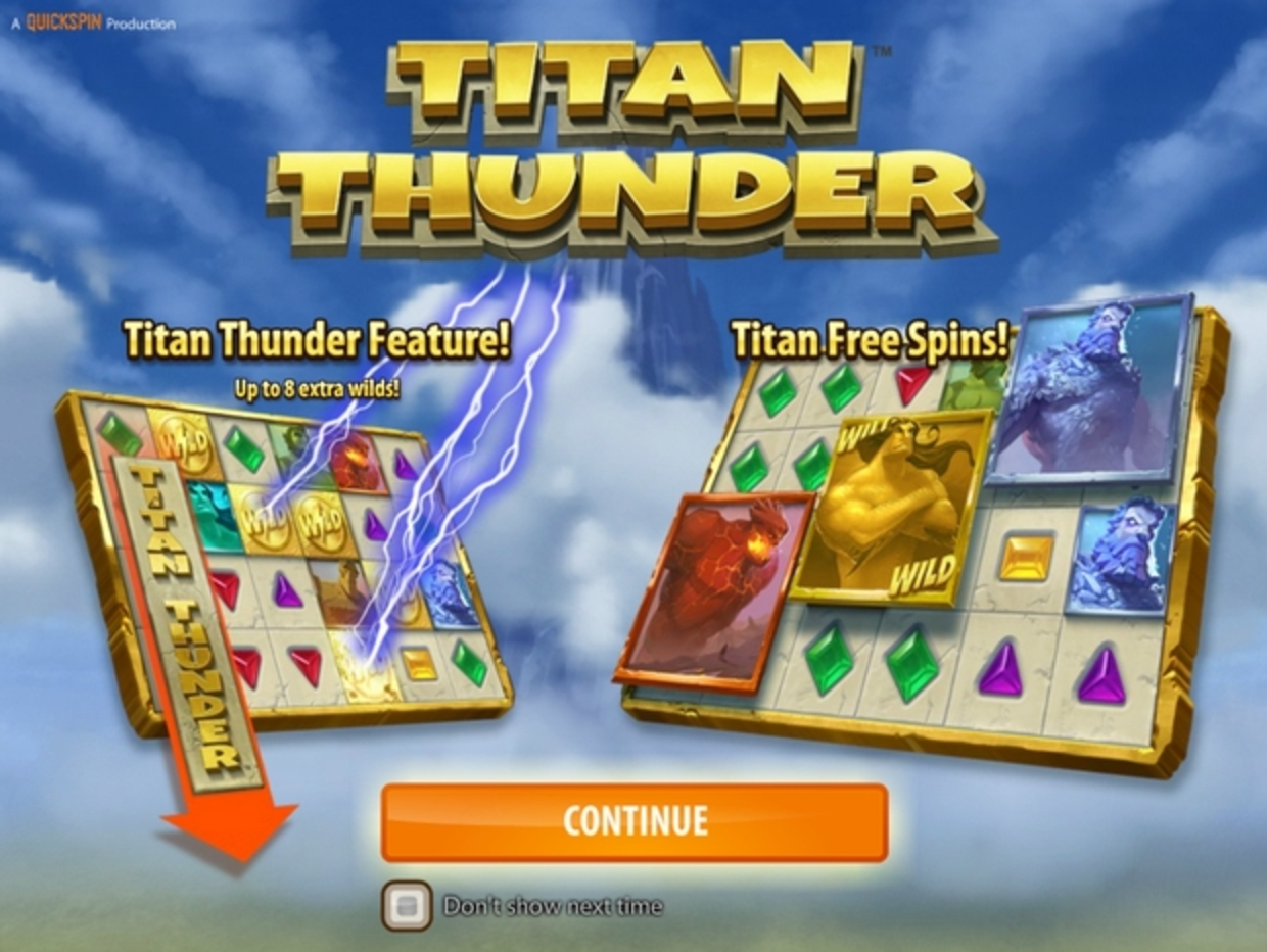 The Titan Thunder Online Slot Demo Game by Quickspin