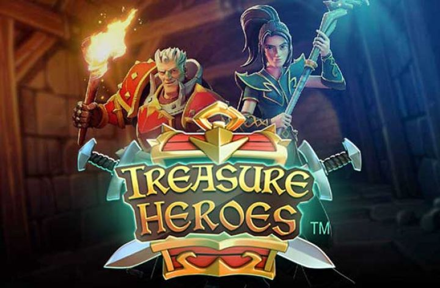 The Treasure Heroes Online Slot Demo Game by Rabcat