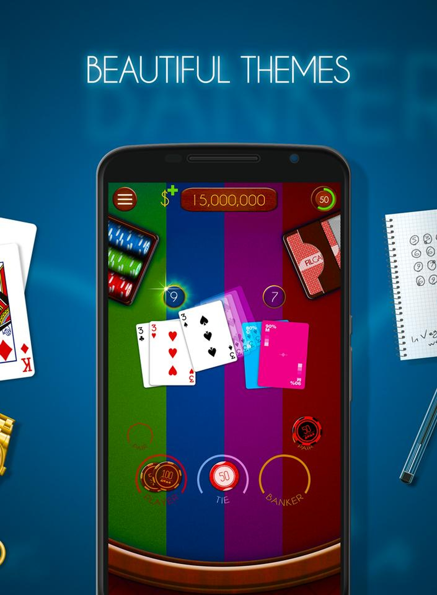The Baccarat (Realistic) Online Slot Demo Game by Realistic