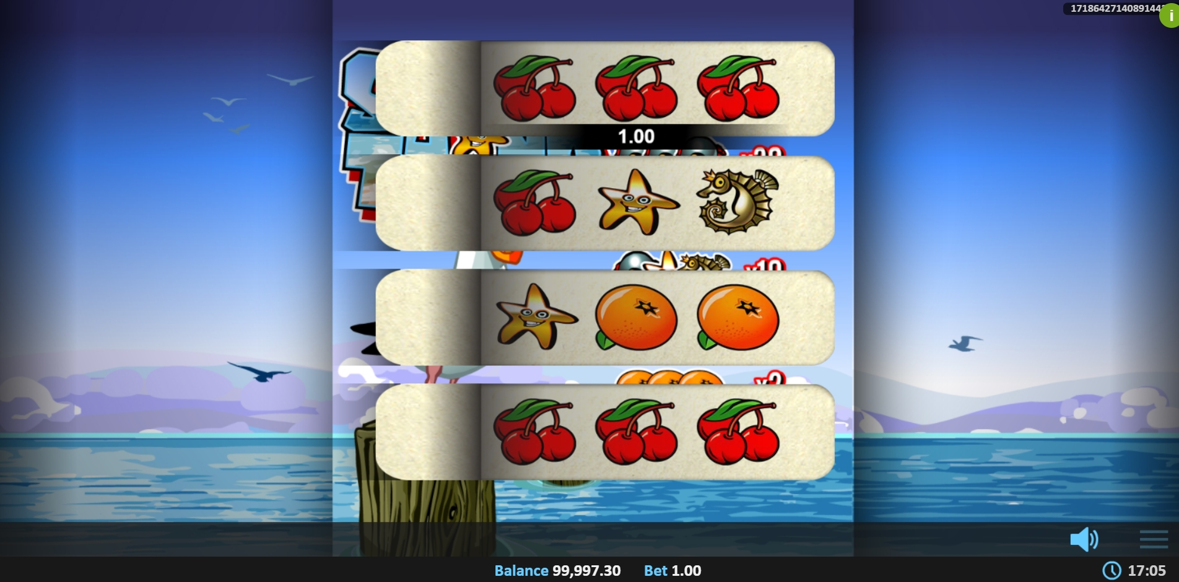 Win Money in Shore Thing Pull Tab Free Slot Game by Realistic