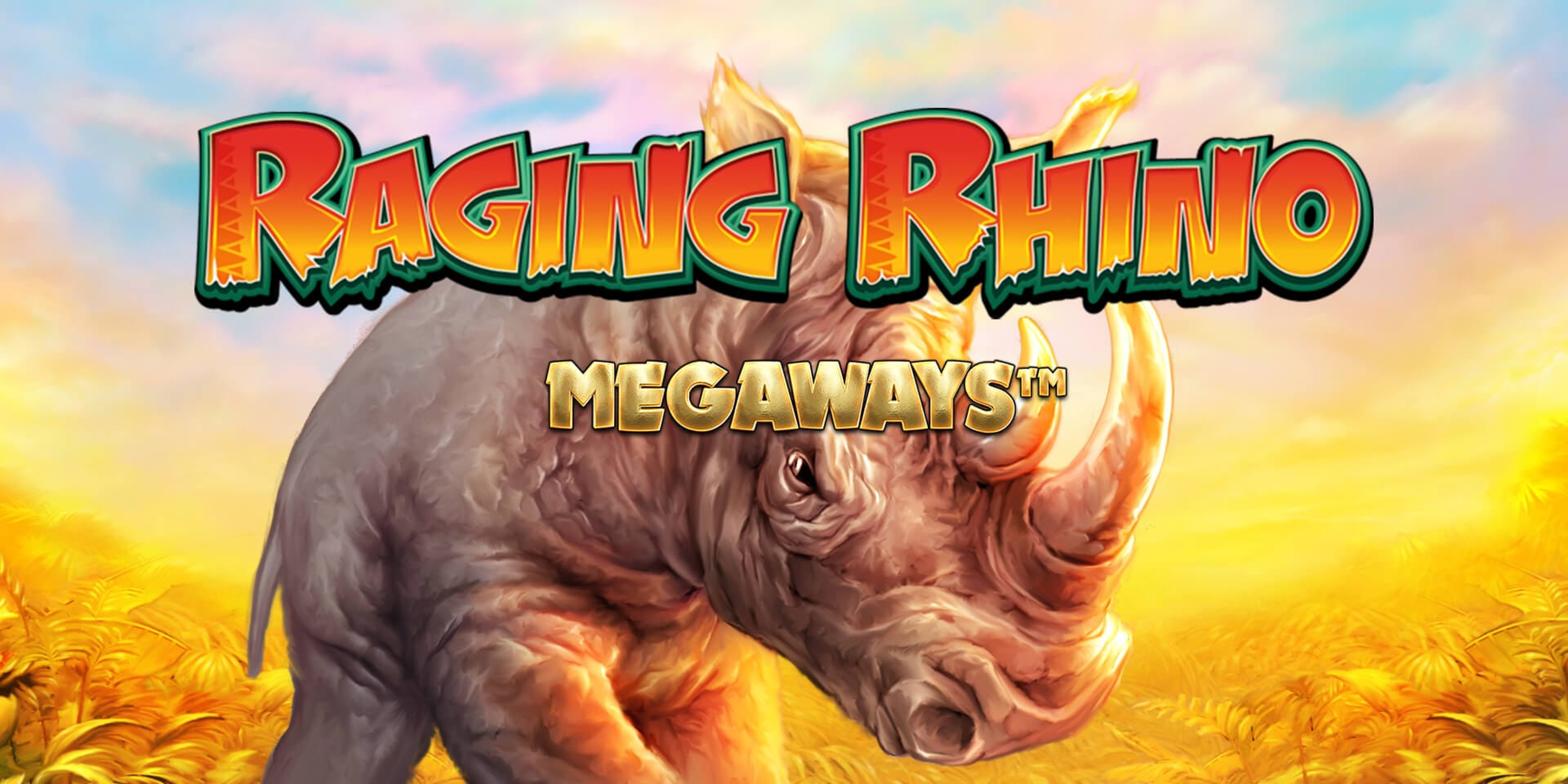 The Raging Rhino Megaways Online Slot Demo Game by Red7 Mobile
