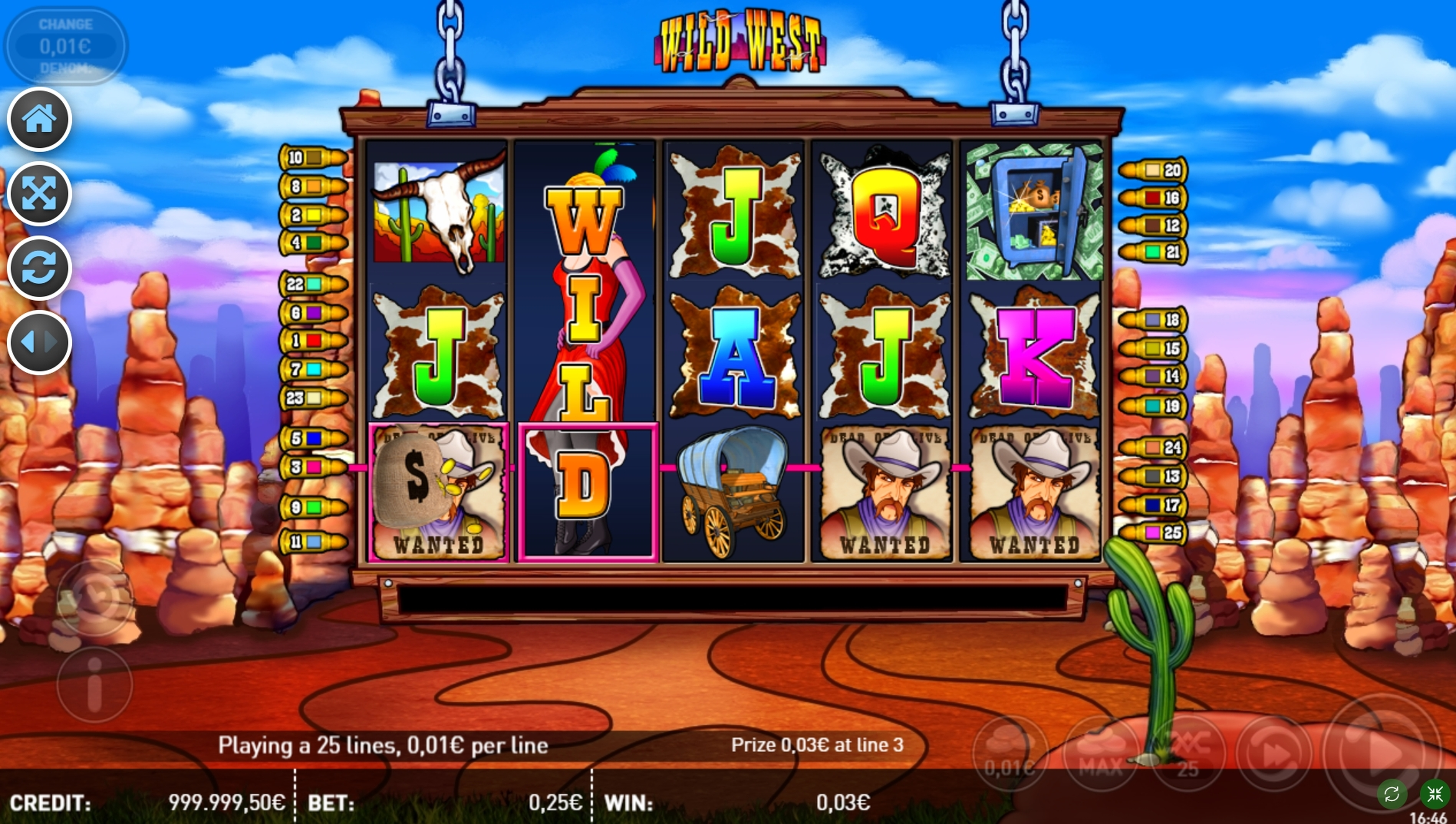 Win Money in Wild West (R. Franco) Free Slot Game by R. Franco