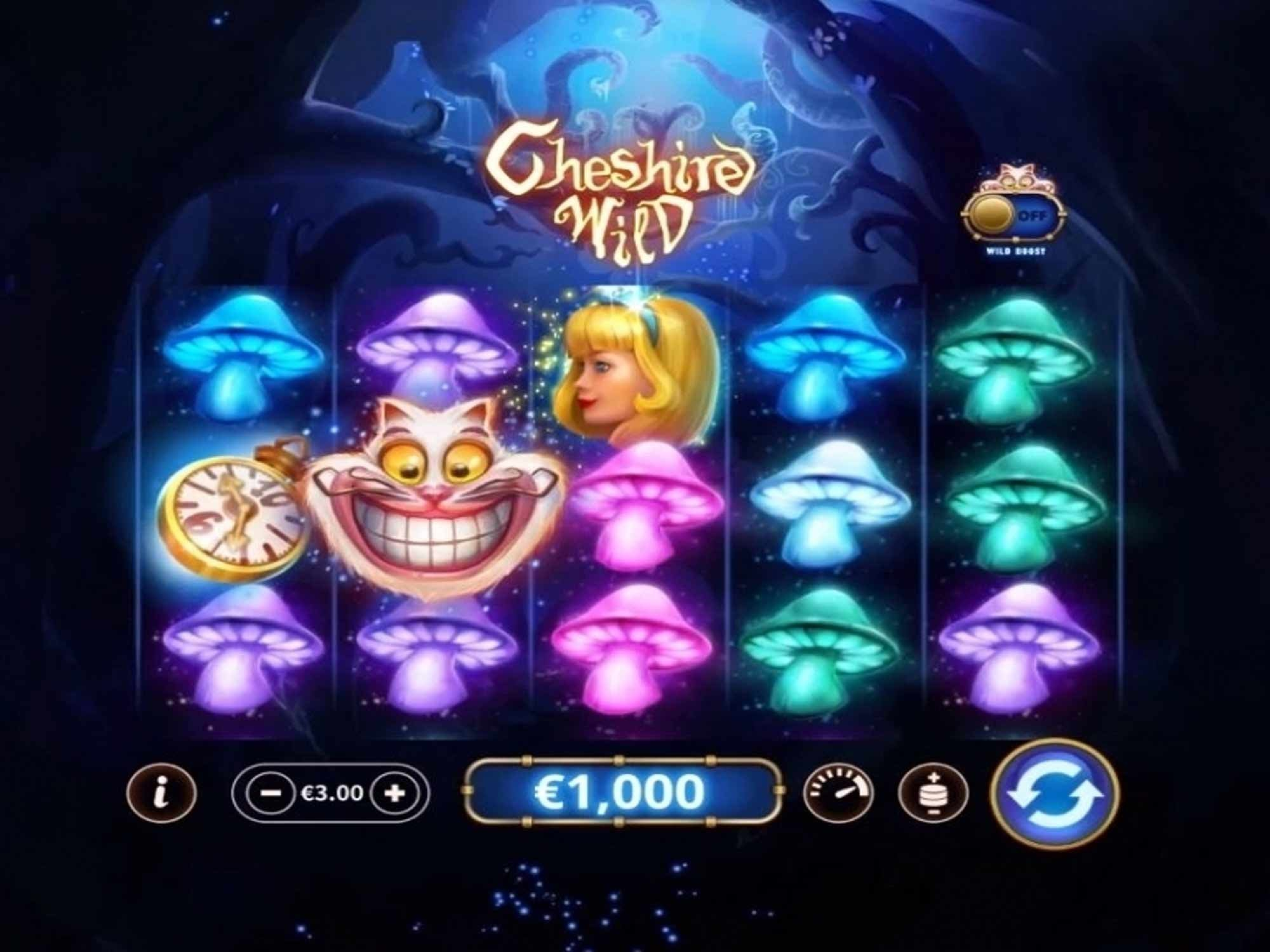 Win Money in Cheshire Wild Free Slot Game by Skywind
