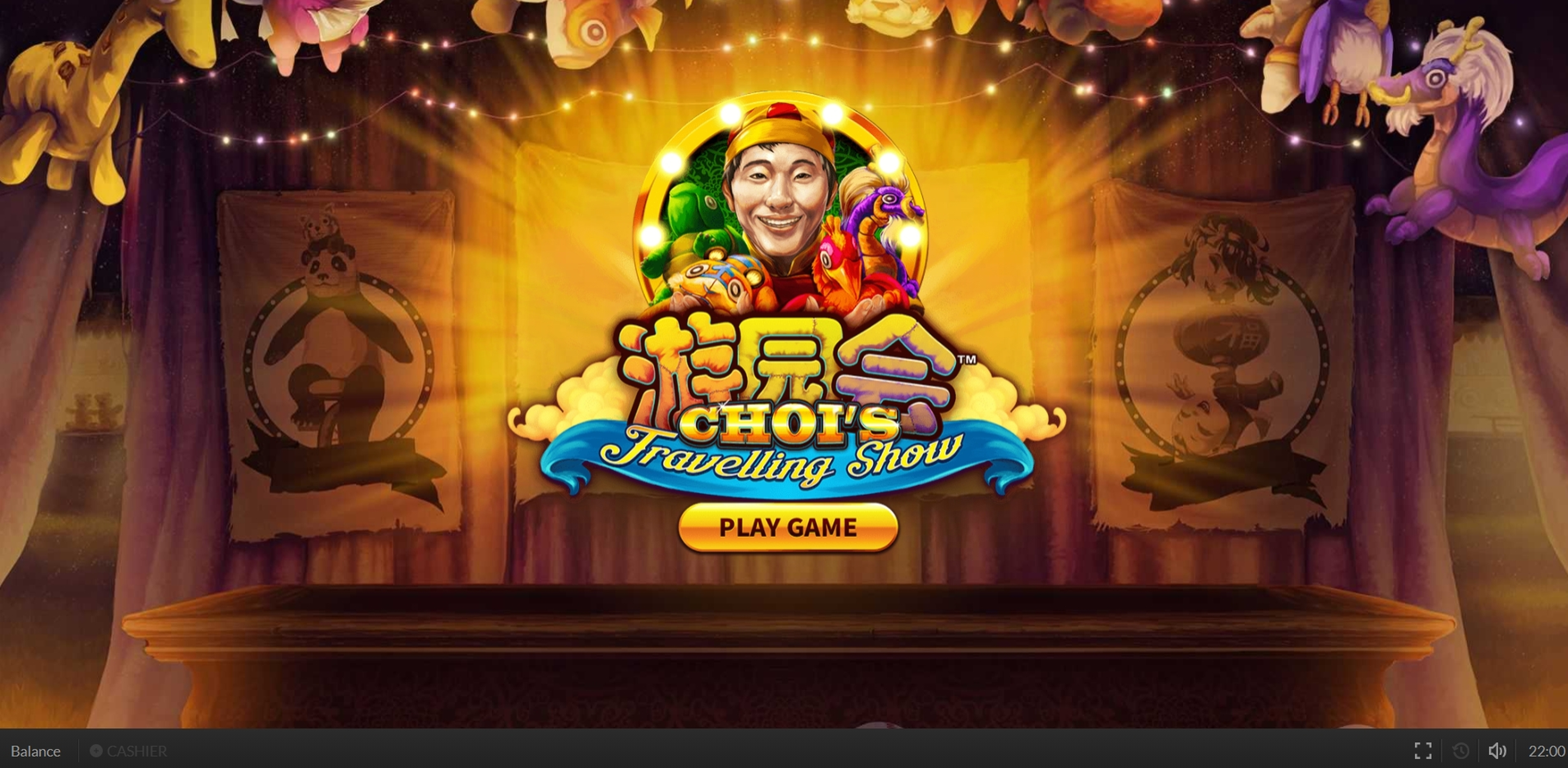 Win Money in Choi's Travelling Show Free Slot Game by Skywind