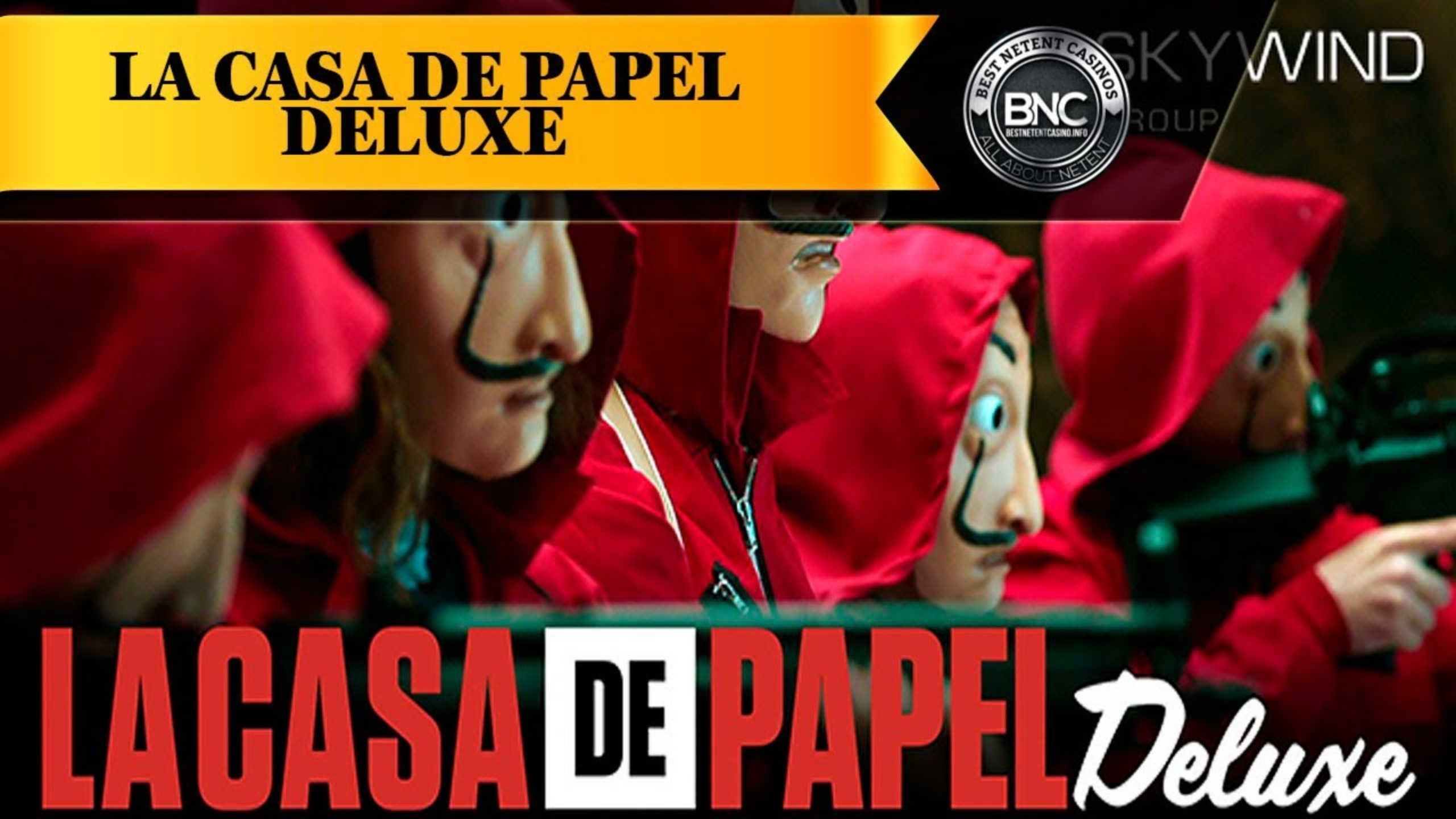 Win Money in La Casa De Papel Free Slot Game by Skywind