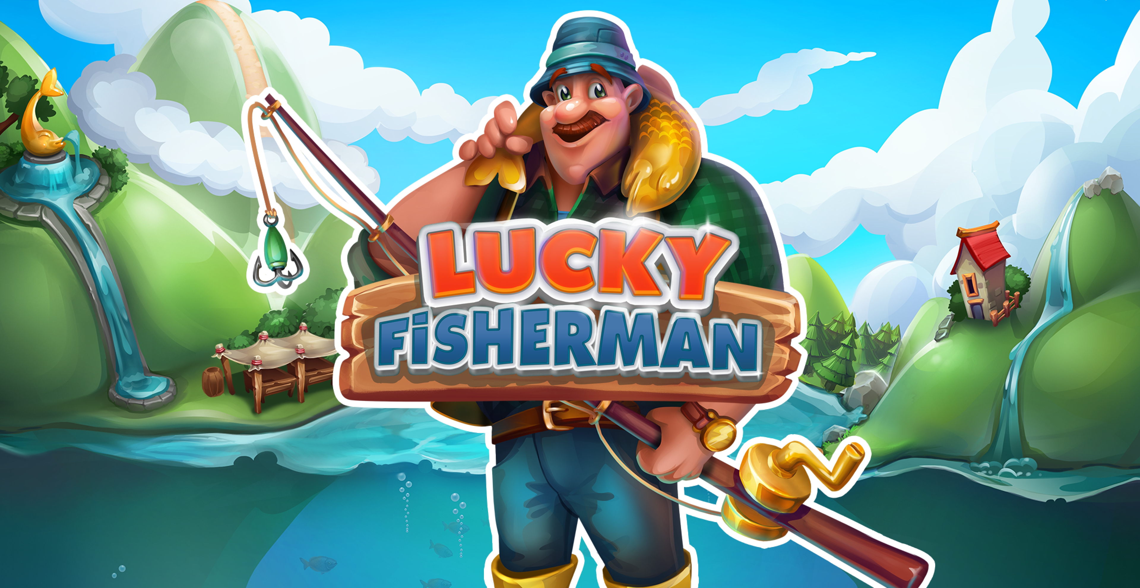 Win Money in Lucky Fisherman Free Slot Game by Skywind