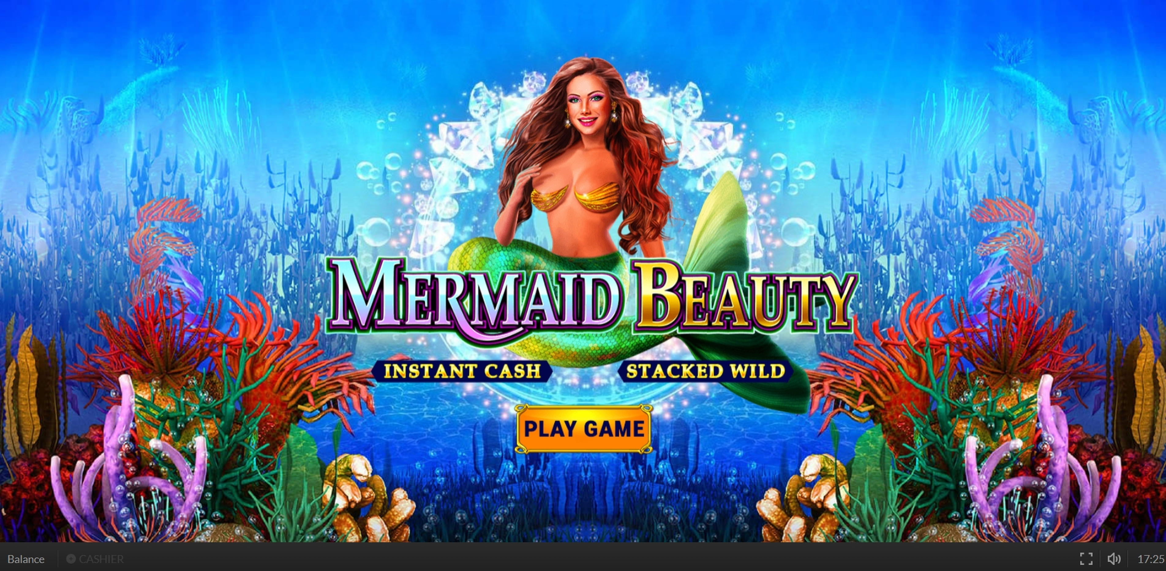 Win Money in Mermaid Beauty Free Slot Game by Skywind