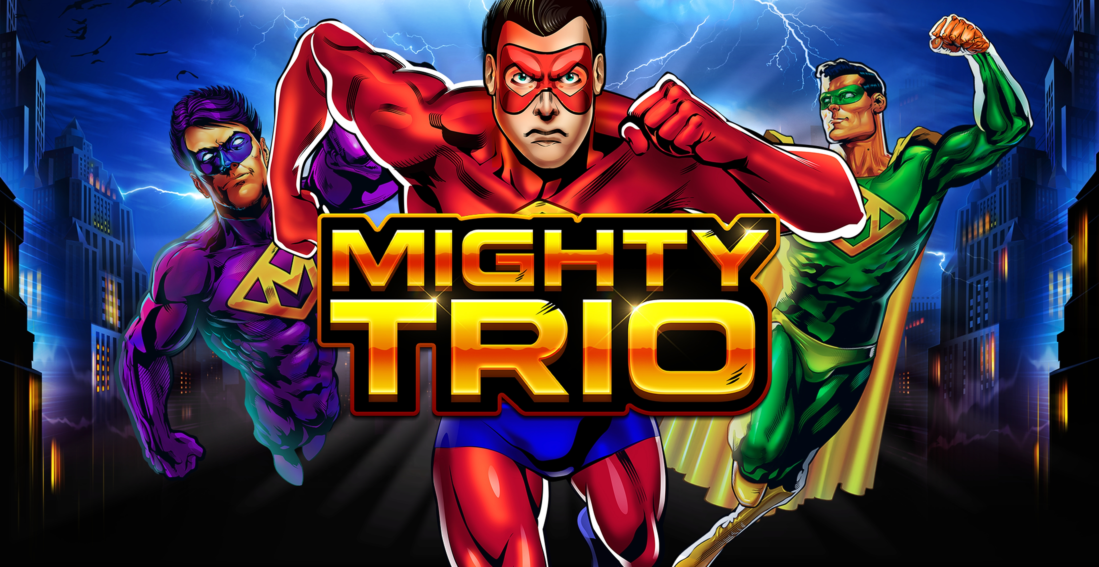 Win Money in Mighty Trio Free Slot Game by Skywind