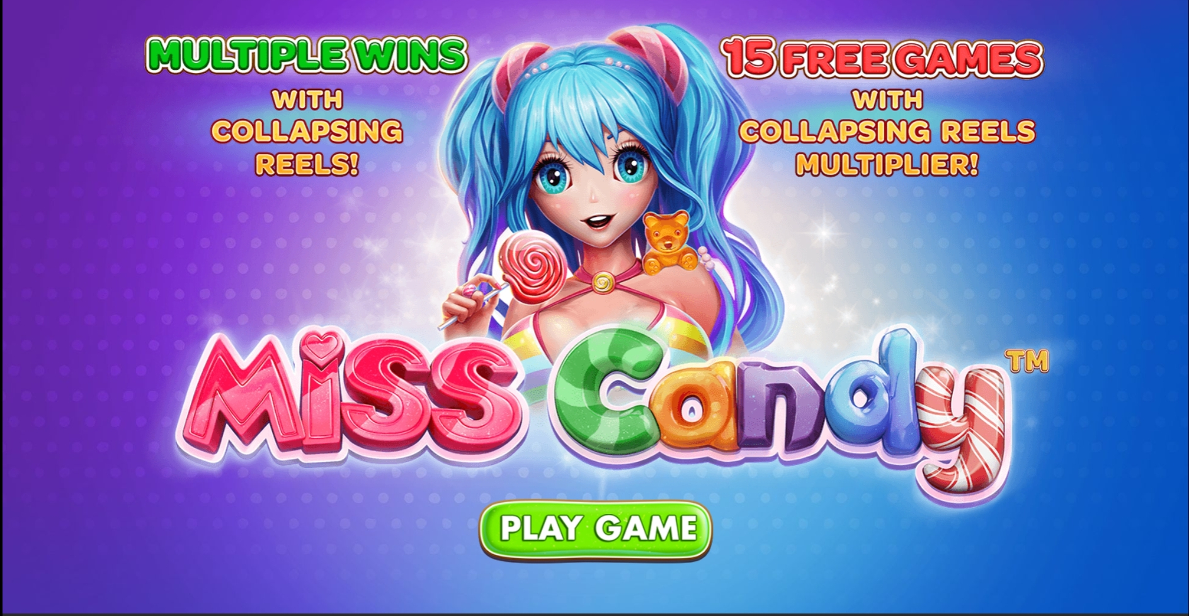 Win Money in Miss Candy Free Slot Game by Skywind