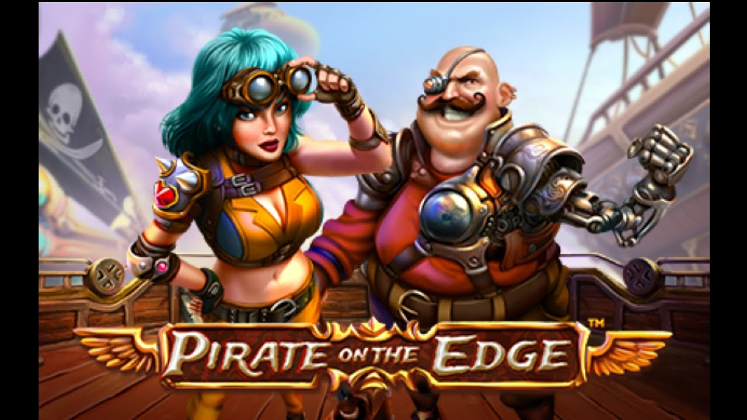 Win Money in Pirate on the Edge Free Slot Game by Skywind