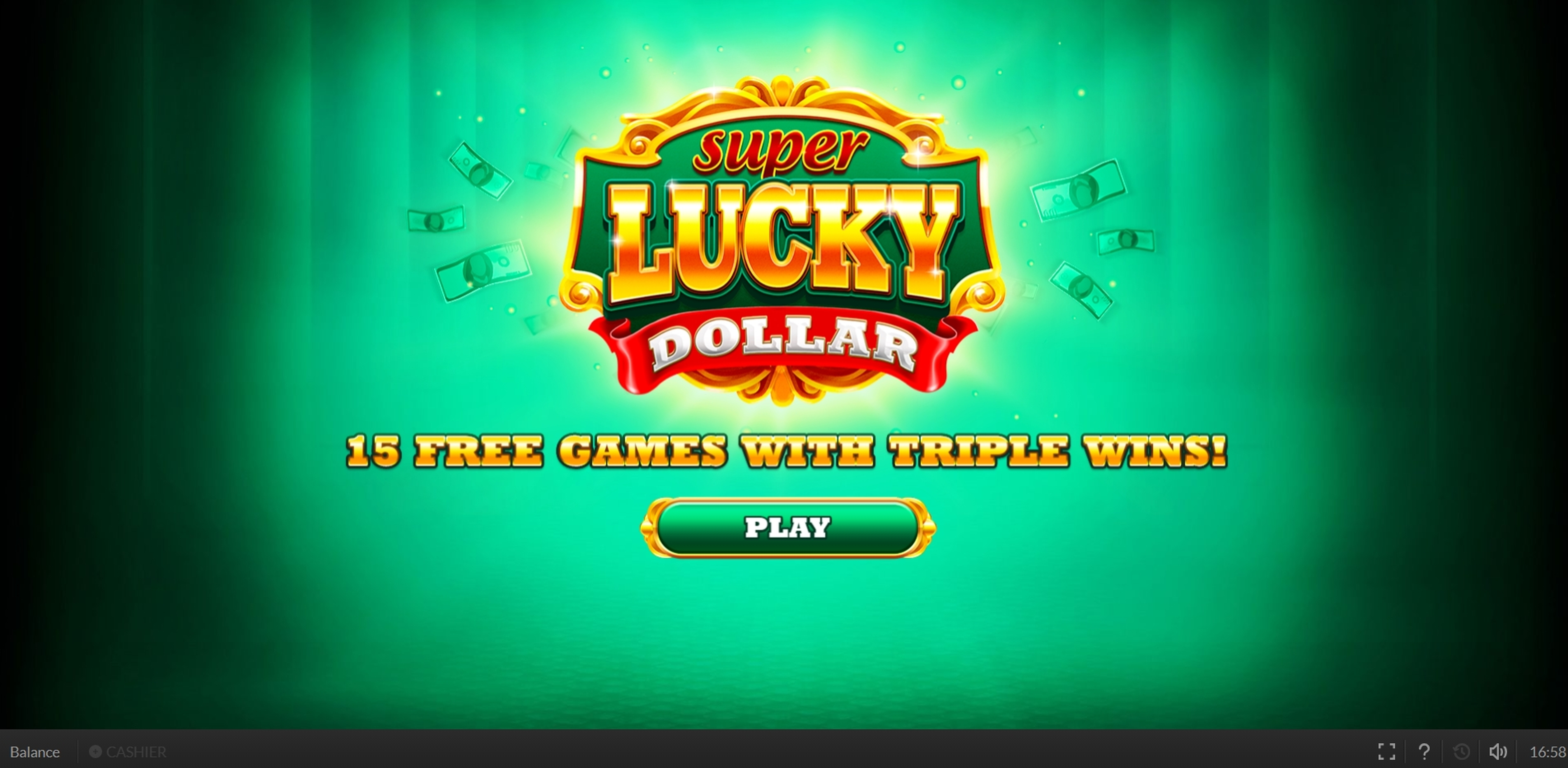 Win Money in Super Lucky Dollar Free Slot Game by Skywind