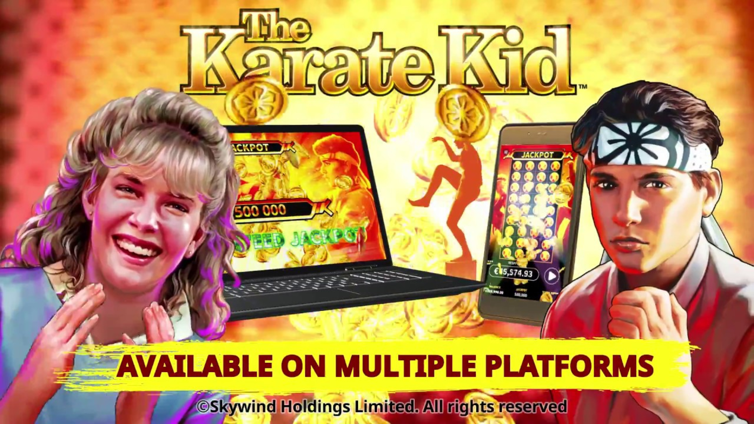 Win Money in The Karate Kid Free Slot Game by Skywind