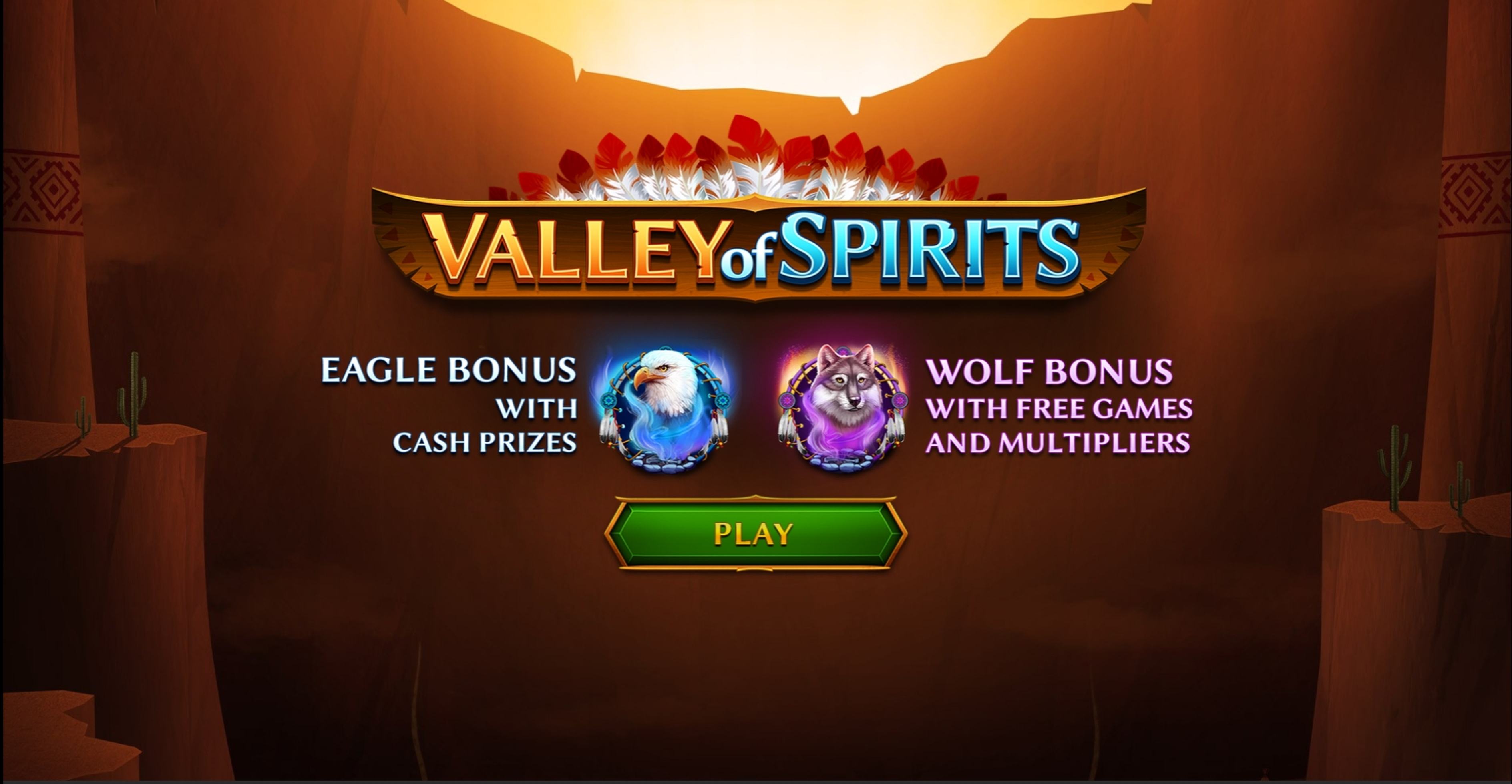 Win Money in Valley of Spirits Free Slot Game by Skywind