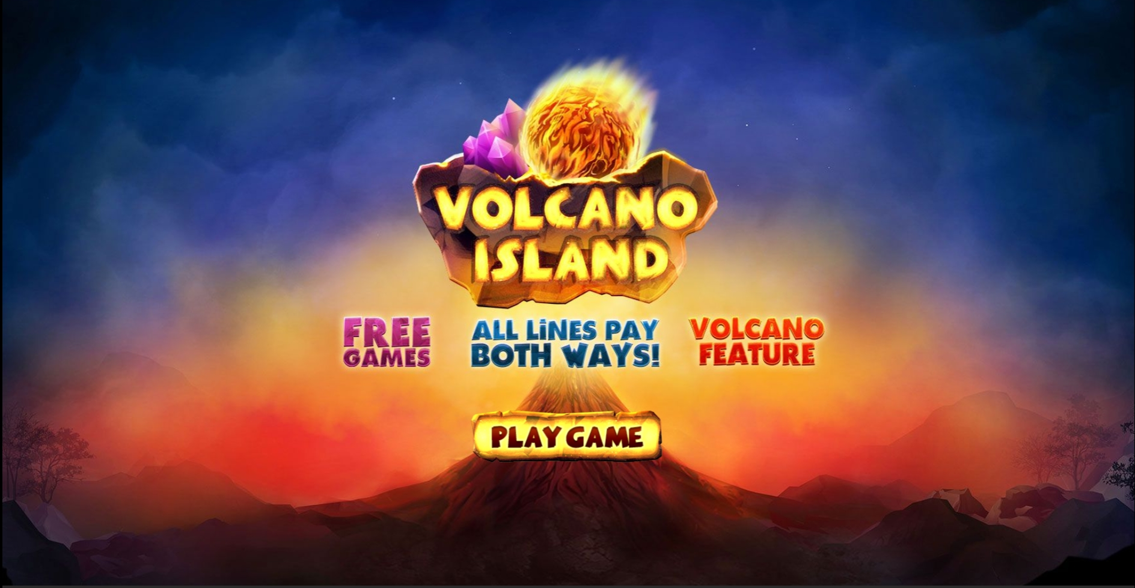 Win Money in Volcano Island Free Slot Game by Skywind