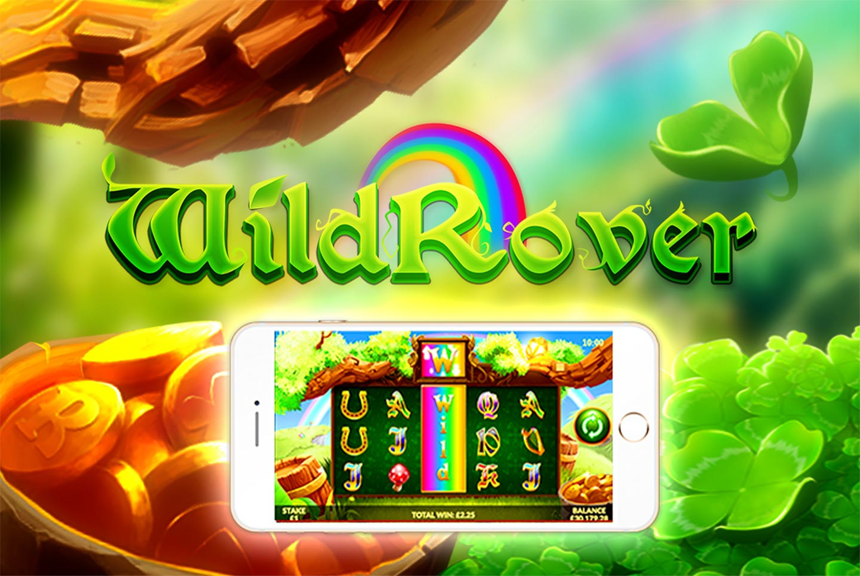 The Wild Rover Online Slot Demo Game by Slingo