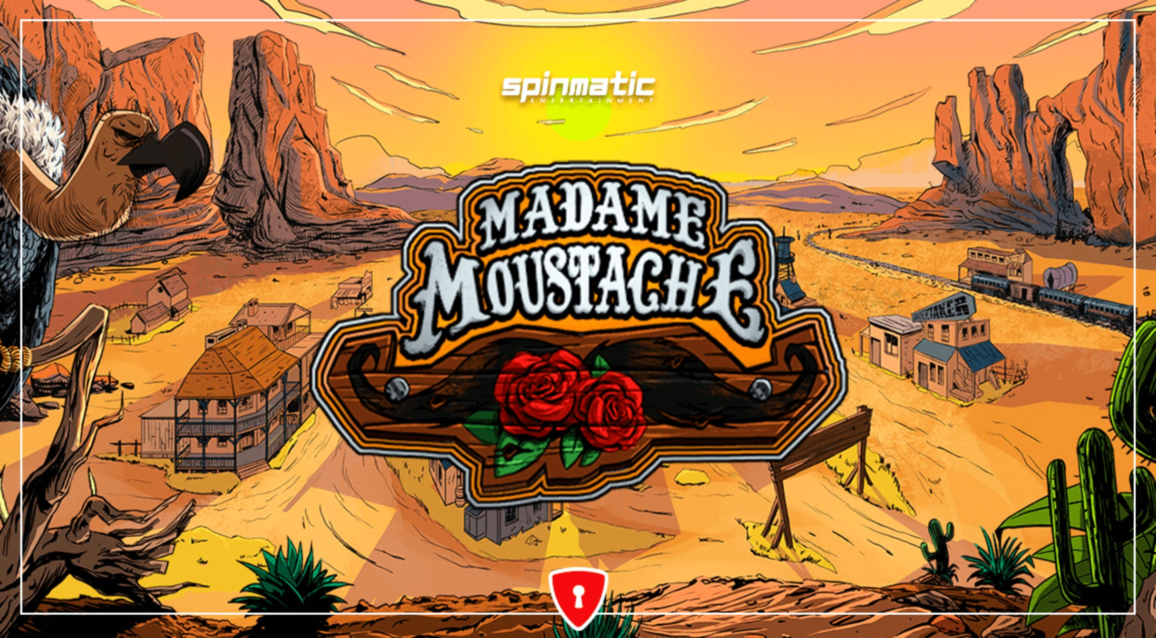 The Madame Moustache Online Slot Demo Game by Spinmatic