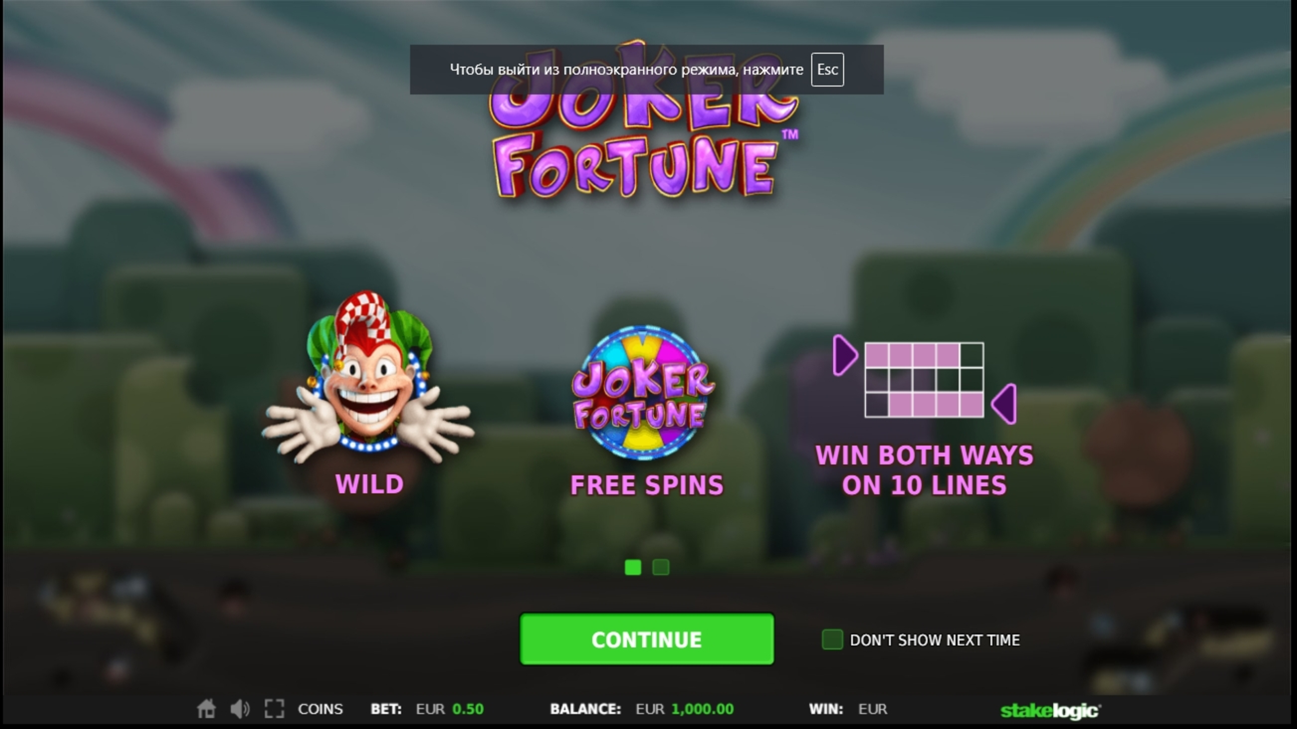 Play Joker Fortune Free Casino Slot Game by StakeLogic