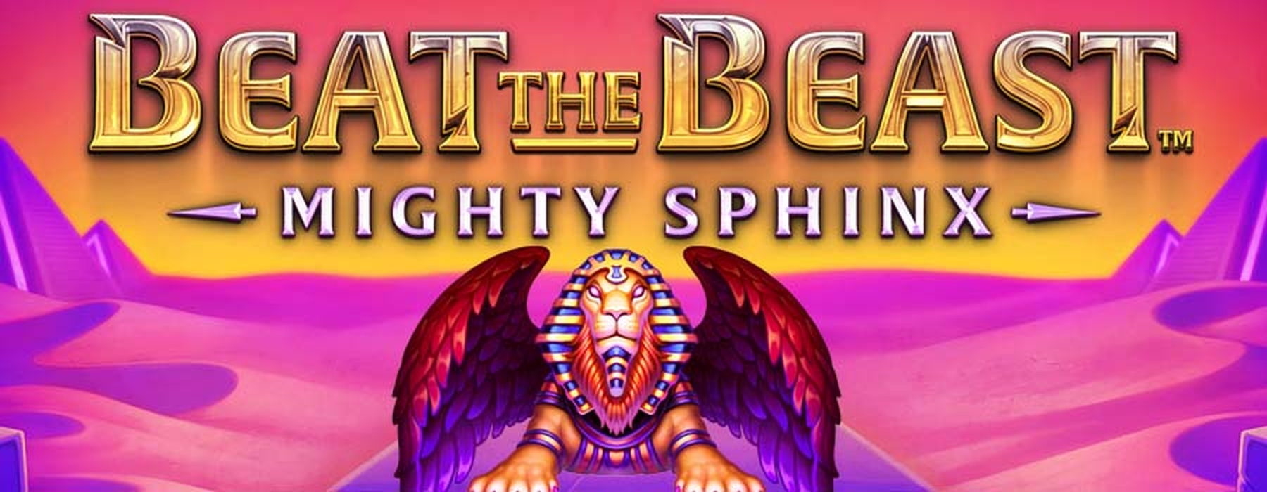 The Beat the Beast Mighty Sphinx Online Slot Demo Game by Thunderkick