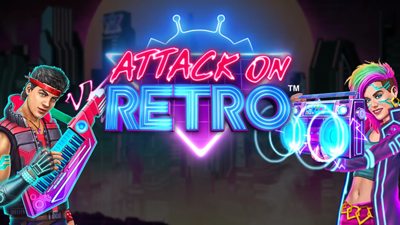 The Attack on Retro Online Slot Demo Game by Triple Edge Studios