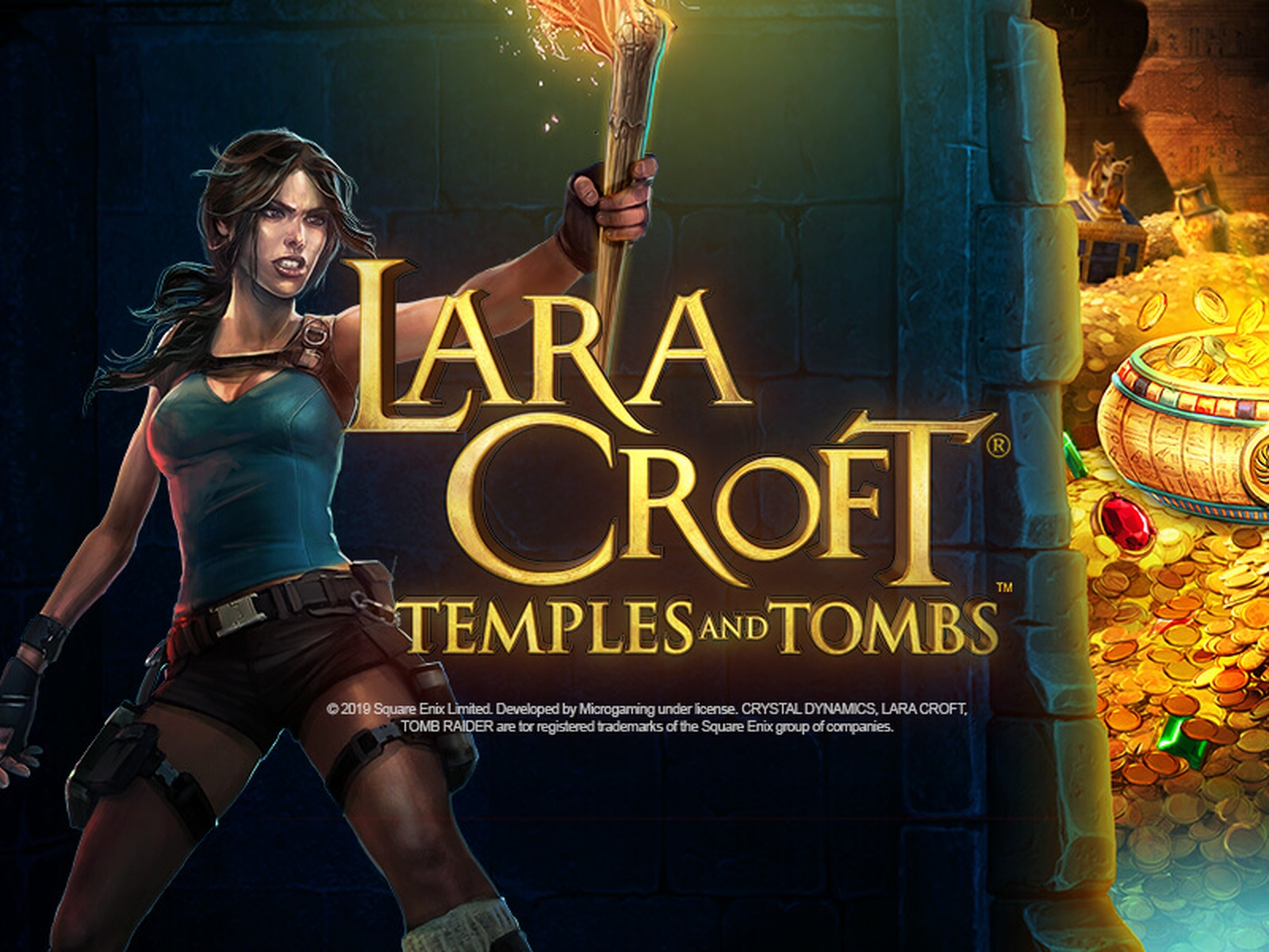 The Lara Croft Temples and Tombs Online Slot Demo Game by Triple Edge Studios