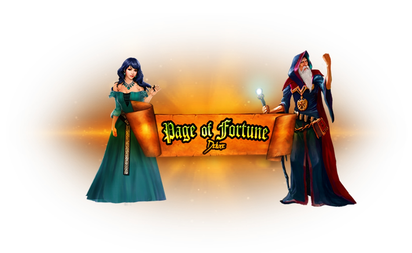 The Page of Fortune Deluxe Online Slot Demo Game by ZEUS PLAY