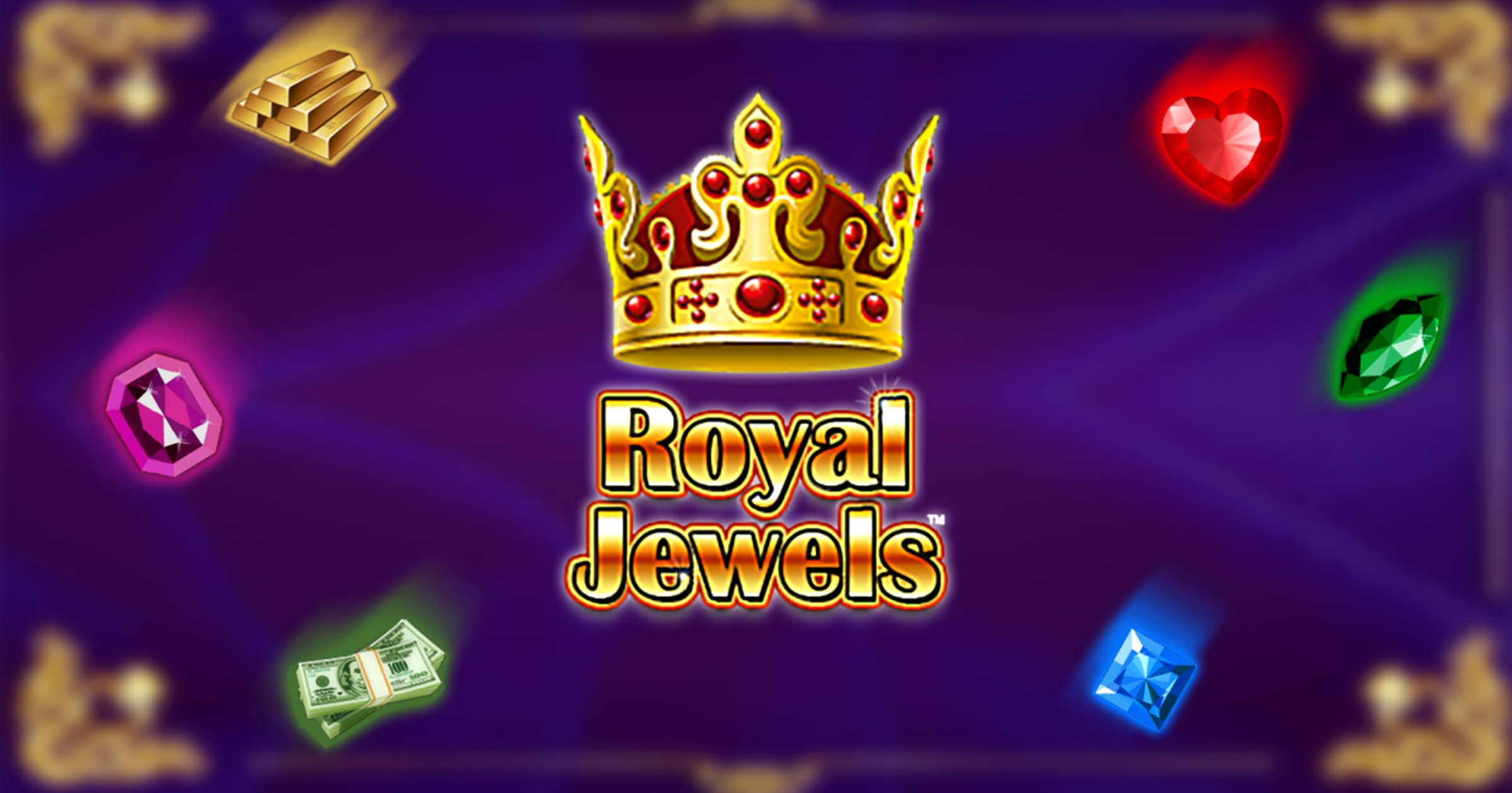 The Royal Jewels (Zeus Play) Online Slot Demo Game by ZEUS PLAY