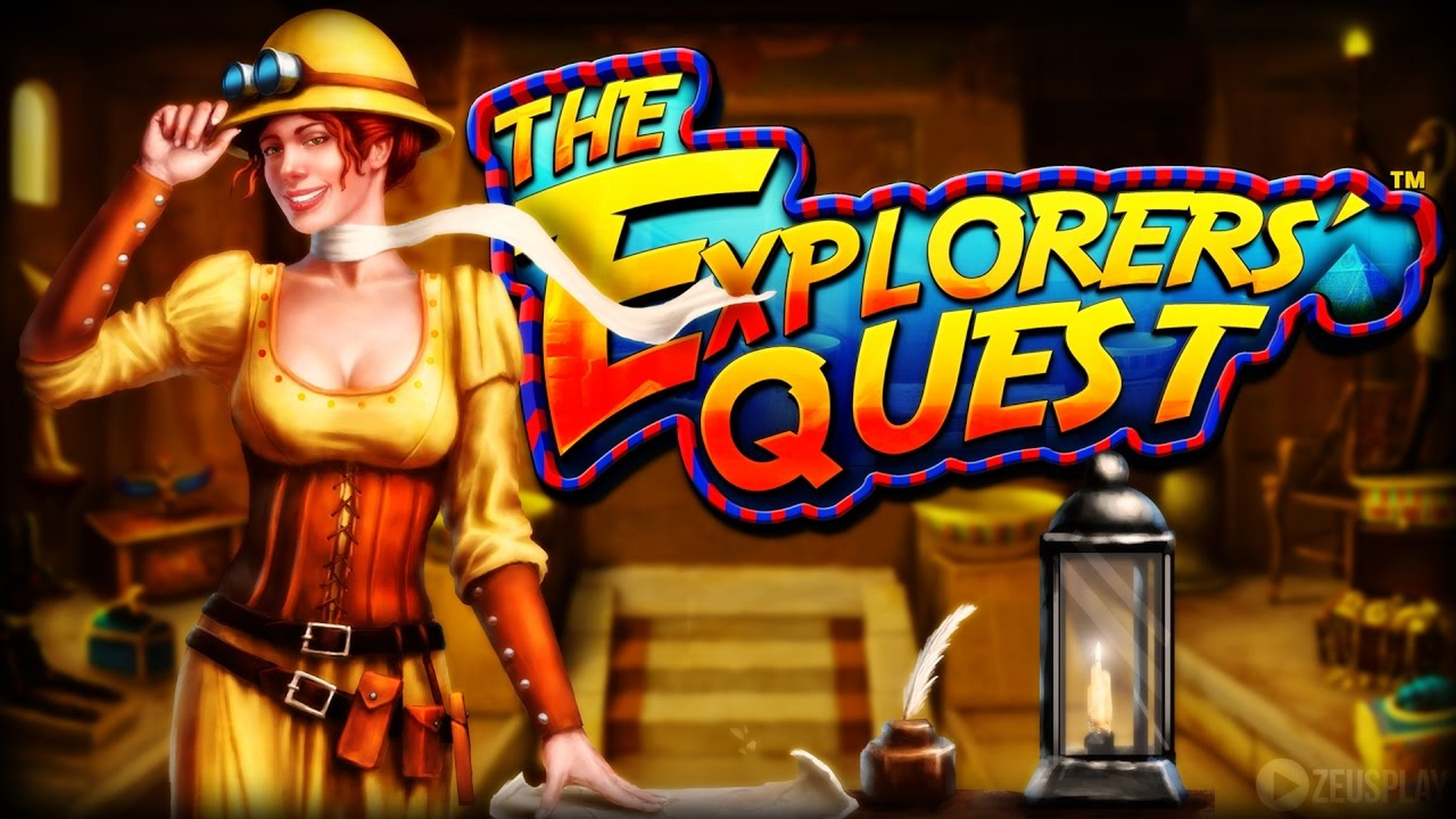 The The Explorers' Quest Online Slot Demo Game by ZEUS PLAY